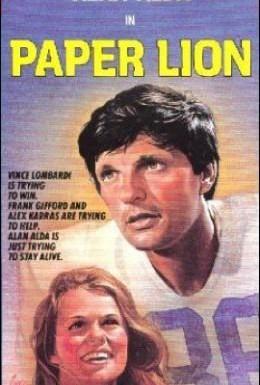 Постер фильма Бумажный лев (1968)