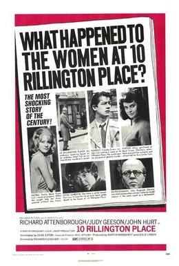 Постер фильма Риллингтон Плейс, дом 10 (1971)
