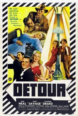 Постер фильма Объезд (1945)