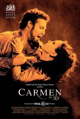 Постер фильма Кармен 3D (2011)