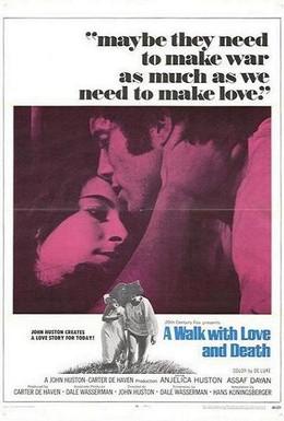 Постер фильма Прогулка с любовью и смертью (1969)
