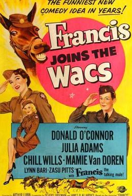 Постер фильма Френсис и девушки в форме (1954)