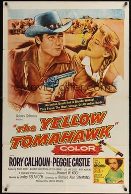 Постер фильма Желтый томагавк (1954)