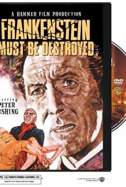 Постер фильма Франкенштейн должен быть уничтожен (1969)