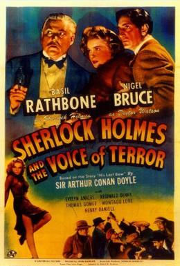 Постер фильма Шерлок Холмс: Шерлок Холмс и голос ужаса (1942)