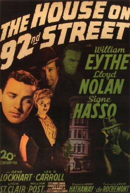 Постер фильма Дом на 92-ой улице (1945)
