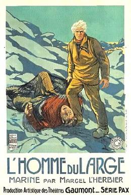 Постер фильма Человек открытого моря (1920)