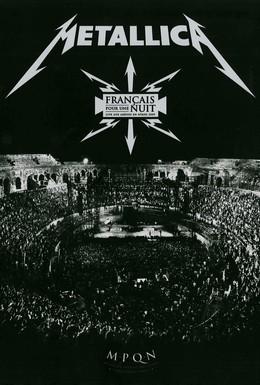 Постер фильма Metallica - Français pour une nuit (2009)