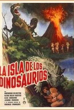 Постер фильма Остров динозавров (1967)