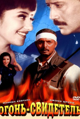 Постер фильма Огонь-свидетель (1996)