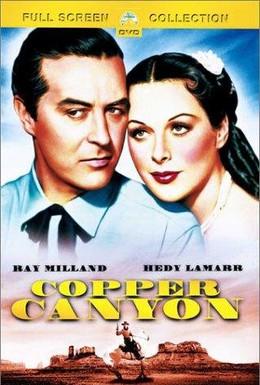 Постер фильма Медный каньон (1950)