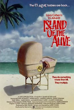 Постер фильма Оно живо 3: Остров живых (1987)