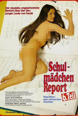 Постер фильма Доклад о школьницах 6: Что родители хотели бы скрыть (1973)