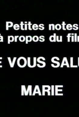 Постер фильма Маленькие заметки по поводу фильма Хвала тебе, Мария (1983)