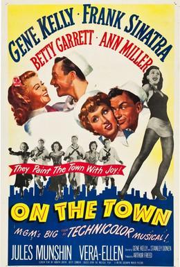 Постер фильма Увольнение в город (1949)