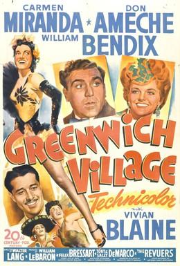 Постер фильма Гринвич-Виллидж (1944)
