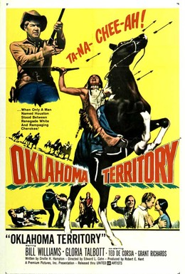 Постер фильма Территория Оклахомы (1960)