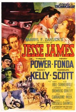 Постер фильма Джесси Джеймс. Герой вне времени (1939)
