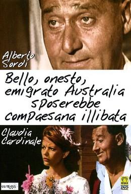 Постер фильма Красивый, честный эмигрант в Австралии хотел бы жениться на девушке-соотечественнице (1971)