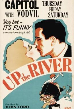 Постер фильма Вверх по реке (1930)