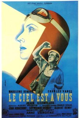 Постер фильма Небо принадлежит вам (1944)