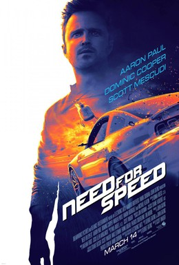 Постер фильма Need for Speed: Жажда скорости (2014)