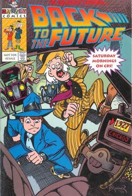 Постер фильма Назад в будущее (1991)
