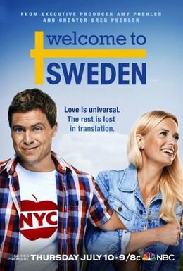 Постер фильма Добро пожаловать в Швецию (2014)