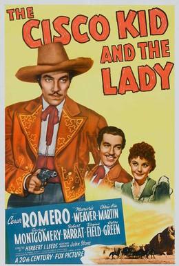 Постер фильма Циско Кид и леди (1939)
