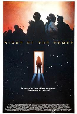 Постер фильма Ночь кометы (1984)