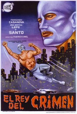 Постер фильма Санто против короля преступлений (1962)