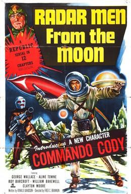 Постер фильма Радарные мужчины с луны (1952)