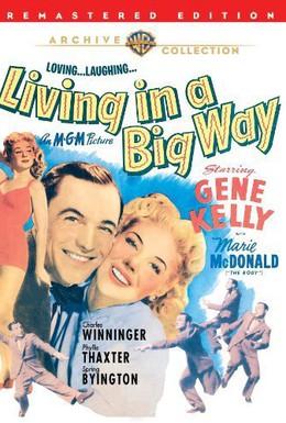 Постер фильма Жизнь на широкую ногу (1947)