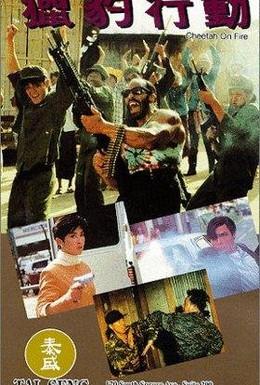 Постер фильма Огненный гепард (1992)