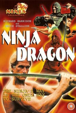 Постер фильма Ниндзя Дракон (1986)