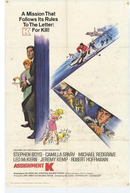 Постер фильма Задание К (1968)