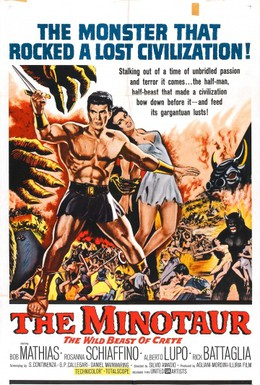 Постер фильма Тесей против Минотавра (1960)