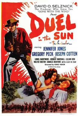 Постер фильма Дуэль под солнцем (1946)