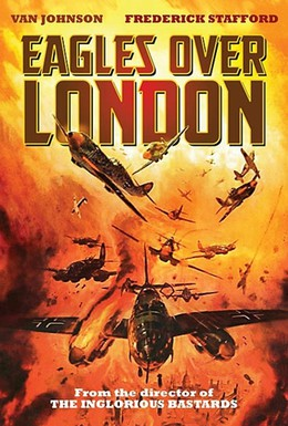 Постер фильма Штуки над Лондоном (1969)
