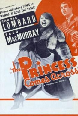 Постер фильма Принцесса пересекает океан (1936)