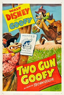 Постер фильма Два пистолета Гуфи (1952)