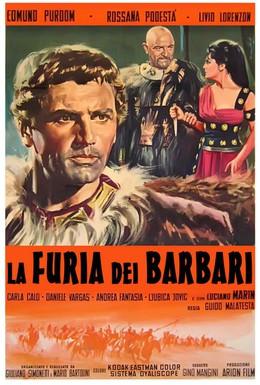 Постер фильма Ярость варваров (1960)