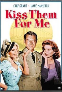 Постер фильма Поцелуй их за меня (1957)