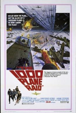 Постер фильма Атака 1000 самолетов (1969)