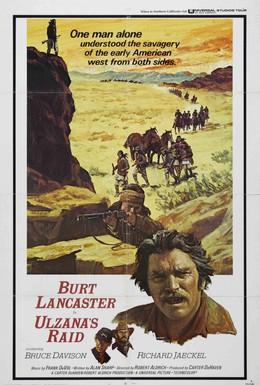 Постер фильма Рейд Ульзаны (1972)