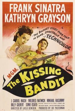 Постер фильма Целующийся бандит (1948)