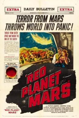 Постер фильма Красная планета Марс (1952)