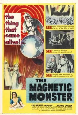 Постер фильма Магнитный монстр (1953)
