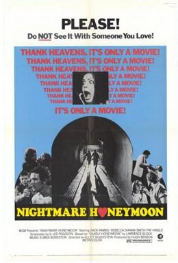 Постер фильма Кошмарный медовый месяц (1974)