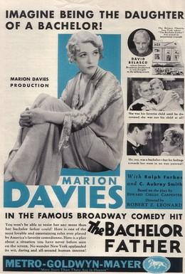 Постер фильма Отец-холостяк (1931)